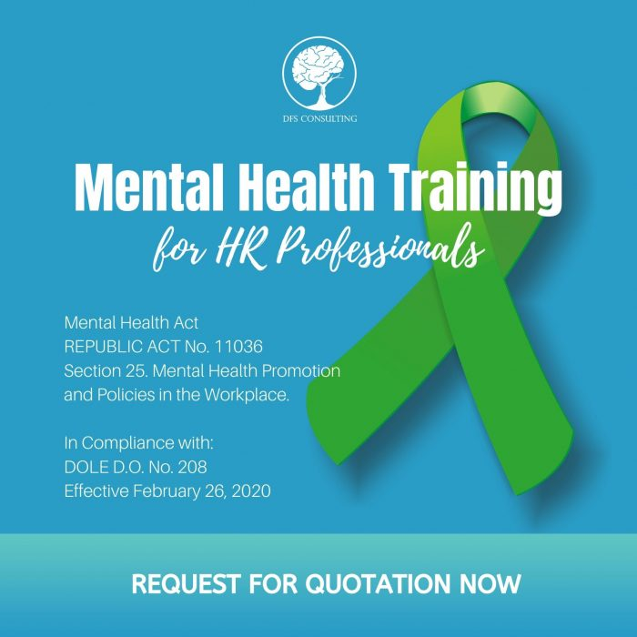 Mental Health Act Law RA 11036 DOLE D.O. 208